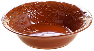 Certified International Autumn Fields Acorn Pumpkin Serving/Pasta Bowl