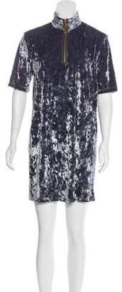 Marc Jacobs Velvet Mini Dress