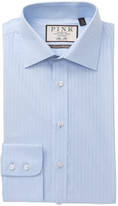 Thomas Pink Ackerman Textured Slim Fit Dress Shirt