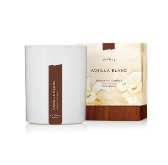 Thymes VANILLA BLANC AROMATIC CANDLE