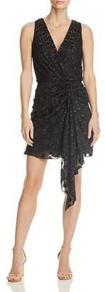 Ramy Brook Desiree Drape-Front Dress