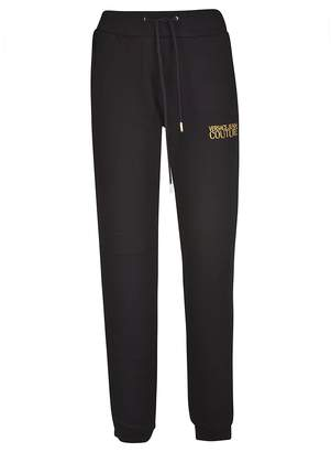 Versace Embroidered Logo Track Pants