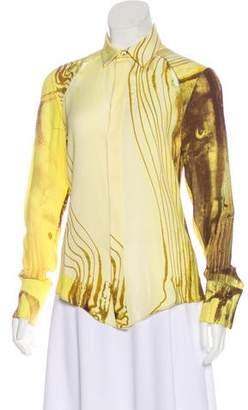 Todd Lynn Silk Printed Blouse