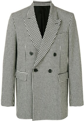 Lined Oversize Double-Breasted Blazer
