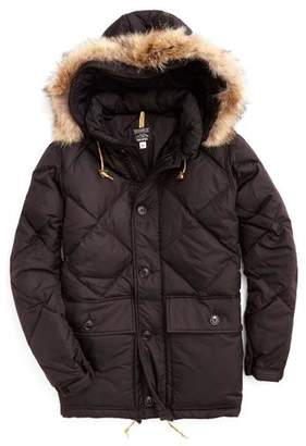 Rocky Mountain Featherbed Todd Snyder +  Nylon Quilted Hooded Parka in Black