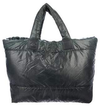 Chanel Large Coco Cocoon Tote Grey Large Coco Cocoon Tote