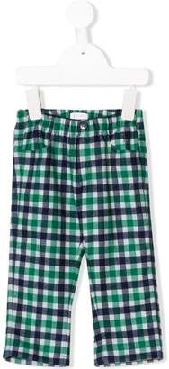 Il Gufo checked trousers