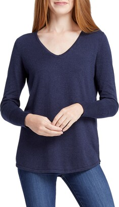 Nic+Zoe Vital V-Neck Sweater