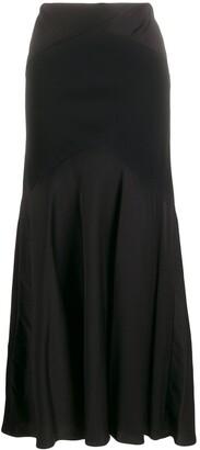 Ralph Lauren contrast long dress