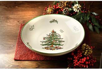 "Spode Christmas Tree 12"" Pasta Serving Bowl"