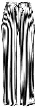 The Kooples Women's Striped Wide Leg Pants