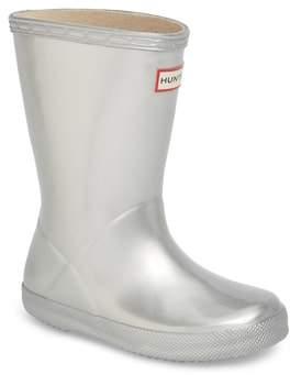 Hunter First Classic Metallic Rain Boot