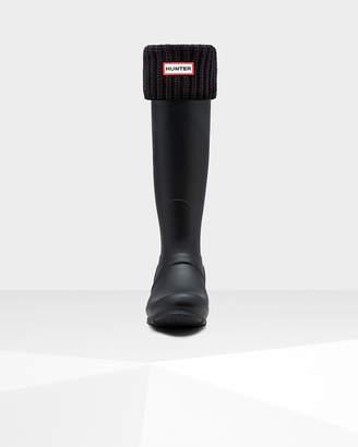 Hunter Half Cardigan Stitch Tall Boot Socks