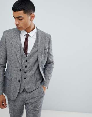Moss Bros skinny suit jacket