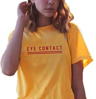 BLACKOO Casual Tee Shirts Teen Girls Tshirt Funny Graphic Tops
