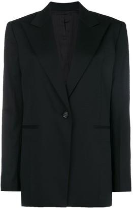Helmut Lang peak lapel blazer