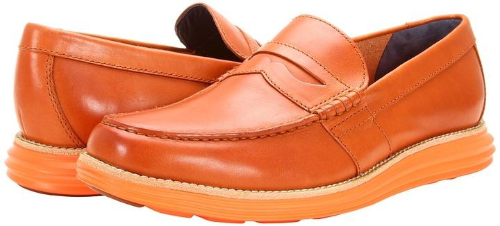 Cole Haan LunarGrand Penny (Woodbury/Orange) - Footwear