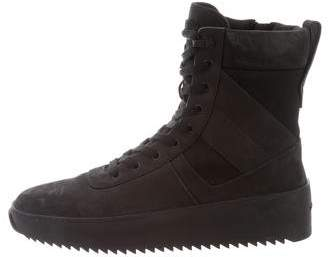 Fear Of God Round-Toe High-Top Sneakers