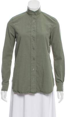 Frame Long Sleeve Button Down Top