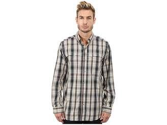 Carhartt Force Mandan Plaid Long Sleeve Shirt Men's Long Sleeve Button Up