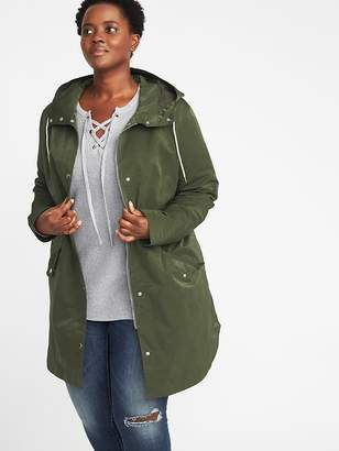Old Navy Hooded Plus-Size Utility Parka