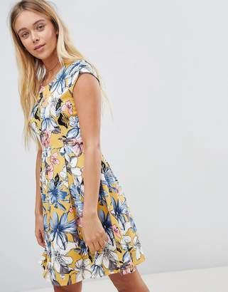 Gilli Floral Skater Dress