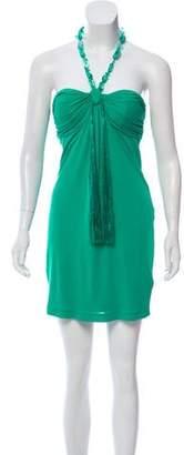 Ungaro Strapless Mini Dress