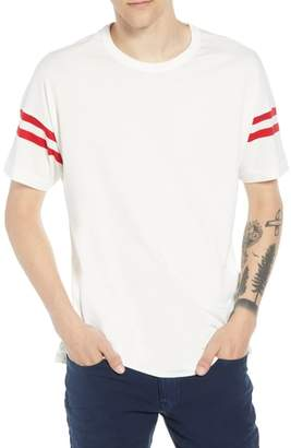 French Connection 24s Tipping Stripe Regular Fit T-Shirt