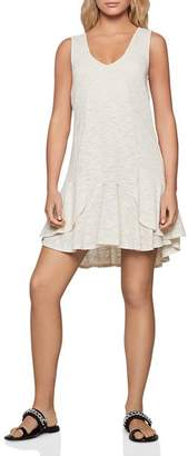 BCBGeneration Ruffled High/Low Swing Dress