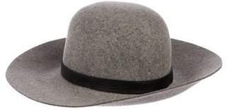 Rag & Bone Wool Wide-Brim Hat