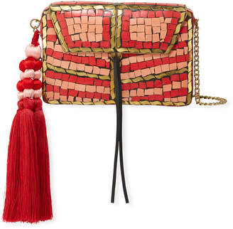 Sam Edelman Tarian Iron-Embellished Paper Crossbody Bag