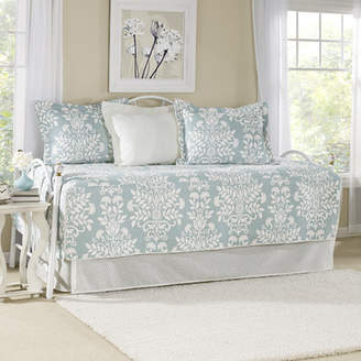Laura Ashley Rowland Breeze 5 Piece Twin Daybed Quilt Set by Home
