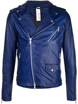 Giorgio Brato fitted biker jacket