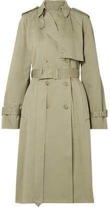 The Row Triana Cotton-twill Trench Coat