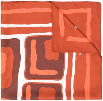 Paco Rabanne Pre-Owned 1960's abstract print scarf
