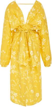 Bernardo Johanna Ortiz San Del Viento Cotton Poplin Dress