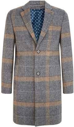 Ted Baker Frais Check Overcoat