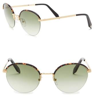 Victoria Beckham Women's 52mm Round Sunglasses