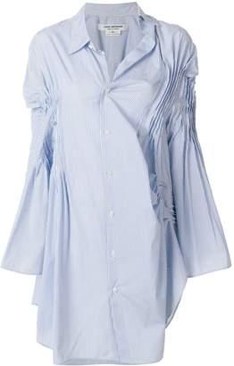 Junya Watanabe asymmetric shirt dress