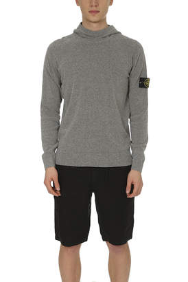 Stone Island Hooded Knit Pullover