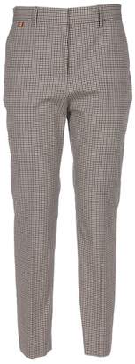 Paul Smith Plaid Cropped Trousers