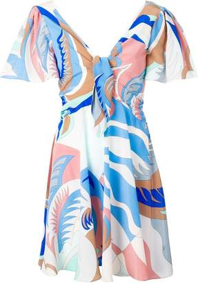 Emilio Pucci short sleeved dress