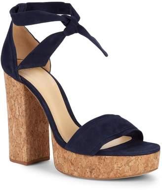 Alexandre Birman Celine Cork Platform Sandals