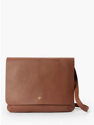 0f788ebd699d John Lewis   Partners Mae Leather Medium Cross Body Bag