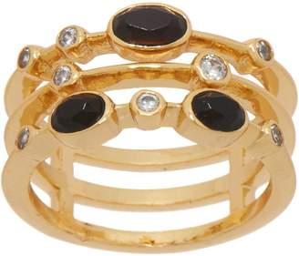 Melinda Maria Three Band Stack Ring