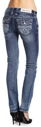 Rock Revival Distressed Straight Leg Jeans