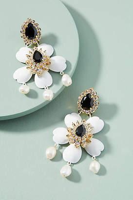 Shourouk Dahlia Drop Earrings