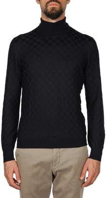 Tagliatore Virgin Wool Turtleneck Sweater