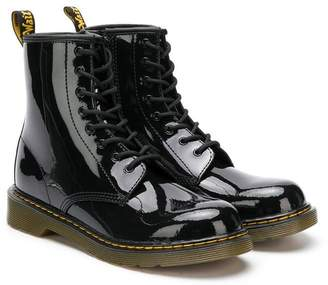 Dr. Martens Kids TEEN lace-up ankle boots