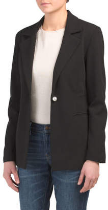 Juniors Deep V Blazer